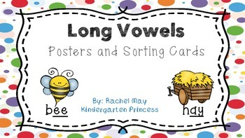 Long Vowels Posters and Word Sort