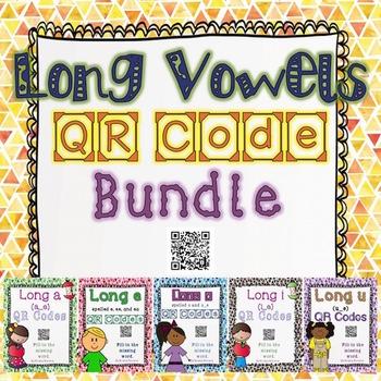 #Piforall Long Vowels QR Codes Bundle