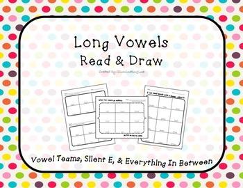 Long Vowels - Read & Draw