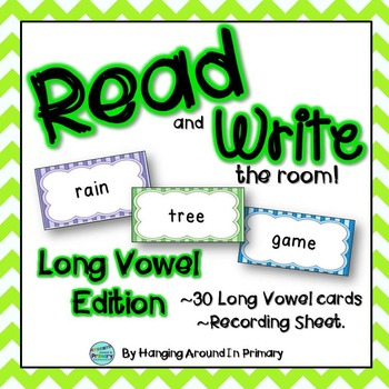 Long Vowels Literacy Center