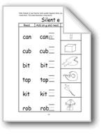 Long Vowels: Silent E