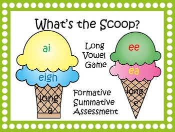 """Long Vowels """"What's The Scoop"""""""