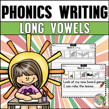 Long Vowels Writing Printables