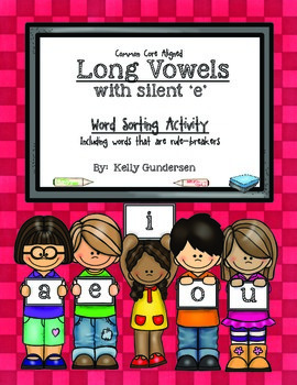 """Long Vowels with Silent 'e' (including """"rule-breakers"""")"""