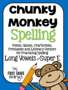 Long Vowels with Super E Spelling- Poems, Lists, Crafts, C