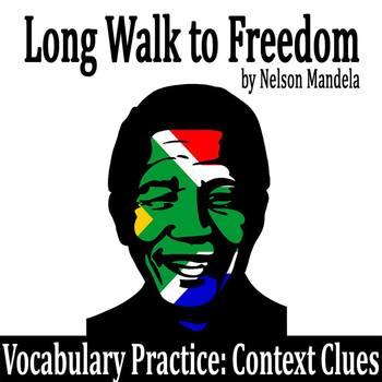 """Long Walk to Freedom"" by Nelson Mandela - Vocabulary Prac"