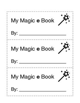 Long a / Magic e Booklet