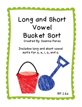 Long and Short Vowel Bundle!