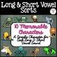 Long and Short Vowel Sorts: BUNDLE