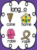 Long and Short Vowel Sound Posters (bright colors)