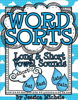 Word Sorts {Long and Short Vowel Sounds}