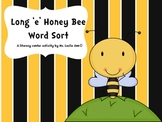 Long e Honey Bee Word Sort