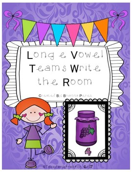 Long e Vowel Teams Write the Room