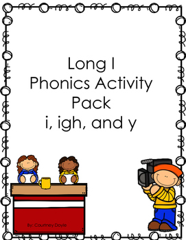 Long i Acitivty pack (i, igh, and y)