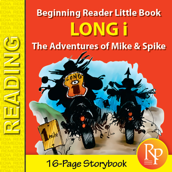 Long i Little Book: Beginning Reader Storybook