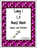 Long i Word Work Games and Activities