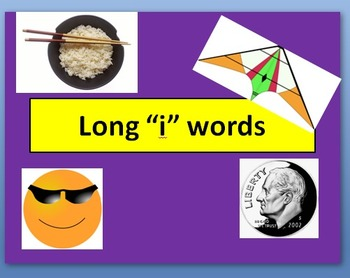 """Long """"i"""" words PowerPoint"""