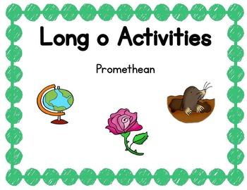 Long o Activities Promethean