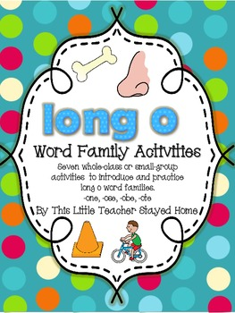 Long o Word Family Activities