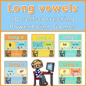 Long vowel games  Bundle
