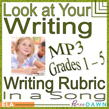 Writing Rubric in a Song - Grades 1-5 MP3