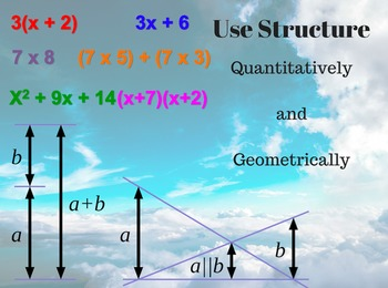 Look For and Make Use of Structure POSTER