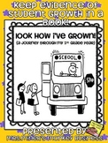 Look How I've Grown (a portfolio of my pre k, kindergarten