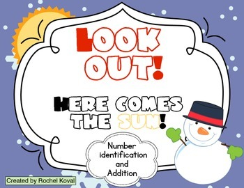 Look Out! Number recognition and addition