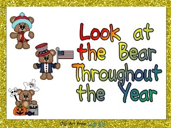 Look at the Bear Throughout the Year Shared Reading for Ki