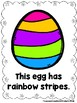 Looking At Easter Eggs  (A Sight Word Emergent Reader)
