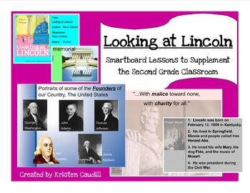 Looking at Lincoln ~ Smartboard Lessons to Supplement the