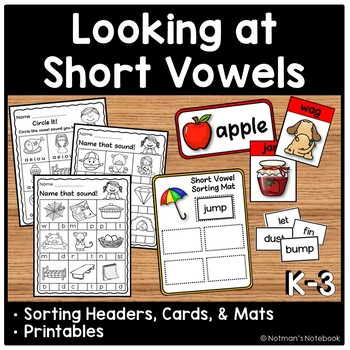Looking at Short Vowels