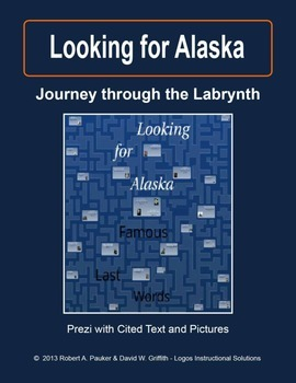 Looking for Alaska: Journey through the Labyrinth (Prezi w