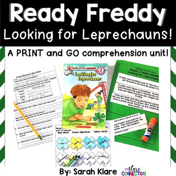Ready Freddy Looking for Leprechauns {A Comprehension Pack}