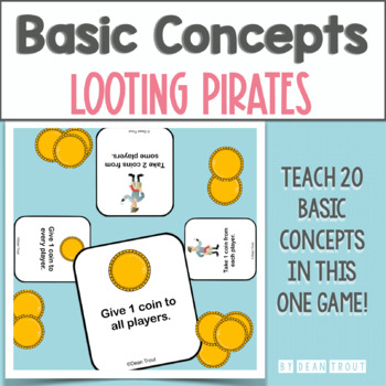 Looting Pirates: A Basic Concepts Teaching Game for Vocabulary