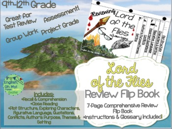 Lord of the Flies-Reviewing Characters, Plot, Conflicts-{F