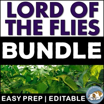 Lord of the Flies Activity Mini Bundle