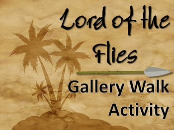 Lord of the Flies Gallery Walk: Writing and Image Analysis