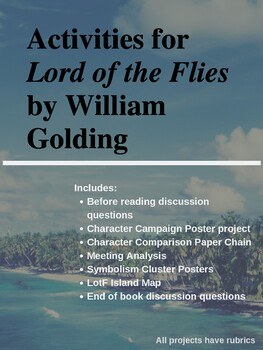 Lord of the Flies Materials