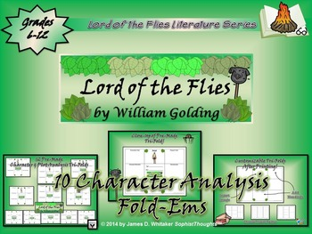 Lord of the Flies by William Golding Character & Plot Anal