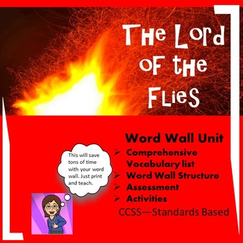 Lord of the Flies:Word Wall Unit