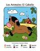 Los Animales de Granja BUNDLE TWO ~ Spanish Color-by-Word