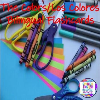 The Colors/Los Colores Flashcards