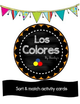 Los Colores ~ Colors in spanish