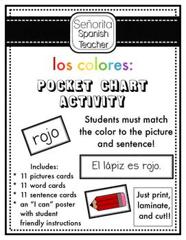 Los Colores - Read and Sort