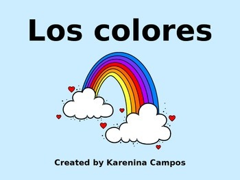 Los Colores- The Colors-PP