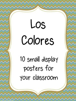 Los Colores-Wall display