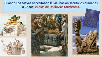 Los Mayas y sus sacrificios humanas: Ppt, actividad de hab