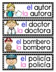 Los Oficios: A Writing Center and Word Wall Set in Spanish