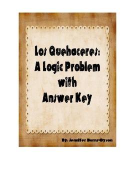 Los Quehaceres: A Logic Problem about Spanish Chores
